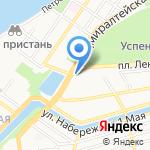Нижневолжское БТИ на карте Астрахани