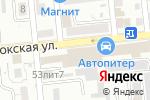 Схема проезда до компании Элекснет в Астрахани