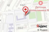 Схема проезда до компании Средняя общеобразовательная школа №1 в Астрахани
