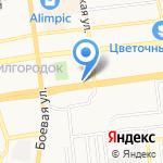Парикмахер на карте Астрахани