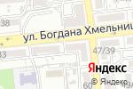 Схема проезда до компании Сели-поели в Астрахани
