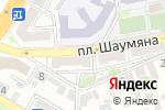 Схема проезда до компании Астрахань Медтехторг в Астрахани