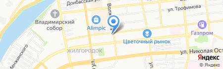 Великая Стена на карте Астрахани