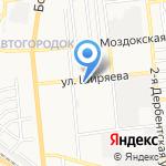 Почтовое отделение №21 на карте Астрахани
