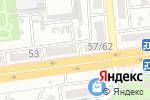 Схема проезда до компании Автосфера в Астрахани