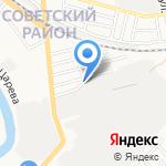 Капельтим на карте Астрахани