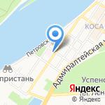 Стационар №1 на карте Астрахани