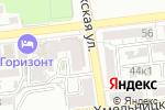 Схема проезда до компании Штор-Декор в Астрахани