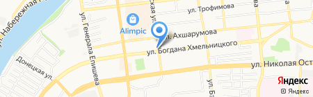 Областной сертификационно-исследовательский центр условий и охраны труда на карте Астрахани