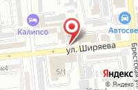 Схема проезда до компании Питер в Астрахани