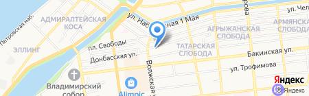 Художественная студия Песковой Марины на карте Астрахани