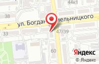 Схема проезда до компании Золотые руки в Астрахани