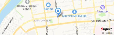 Симфония на карте Астрахани