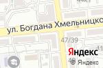 Схема проезда до компании Крошка Ру в Астрахани
