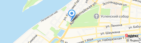 Банкомат Банк Русский Стандарт на карте Астрахани