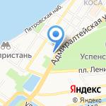 Финансист на карте Астрахани