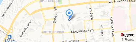 Bank Beer на карте Астрахани
