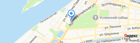 Дария-Тур на карте Астрахани