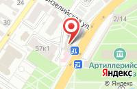 Схема проезда до компании Совкомбанк в Астрахани