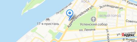 Управление вневедомственной охраны Управления МВД России по Астраханской области на карте Астрахани