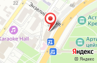 Схема проезда до компании Бизнес и Я в Астрахани