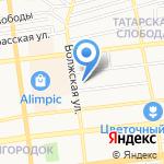 Дружба на карте Астрахани