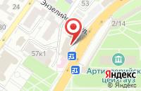 Схема проезда до компании Позитив в Астрахани