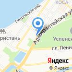 Lambre на карте Астрахани