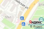 Схема проезда до компании Florange в Астрахани