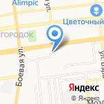Киоск хлебобулочных изделий и молочной продукции на карте Астрахани