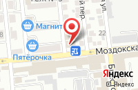 Схема проезда до компании Сафари в Астрахани
