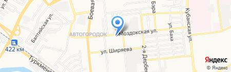 Аладдин Экспресс Ремонт №1 на карте Астрахани