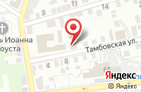 Схема проезда до компании Норд-строй в Астрахани