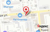 Схема проезда до компании Строй-К в Астрахани
