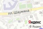 Схема проезда до компании Бит-Трэвел в Астрахани