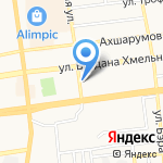 Ракурс на карте Астрахани