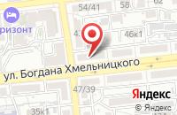 Схема проезда до компании CDEK в Астрахани
