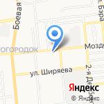 Трактор-Сервис на карте Астрахани