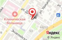 Схема проезда до компании МорСнабСервис в Астрахани
