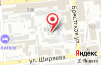 Схема проезда до компании КАШИРИНСЕРВИС в Астрахани