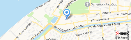 Гимназия №3 на карте Астрахани
