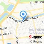 Уголовно-исполнительная инспекция Управления ФСИН России по Астраханской области на карте Астрахани