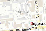 Схема проезда до компании Промокна в Астрахани