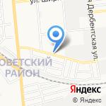 Анна на карте Астрахани