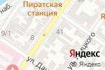 Схема проезда до компании Землеустройство в Астрахани