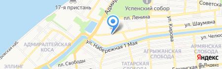 Бит-Трэвел на карте Астрахани