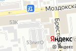 Схема проезда до компании Car-profi в Астрахани