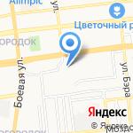 Детская городская поликлиника №4 на карте Астрахани