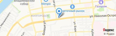 Мариука на карте Астрахани