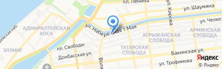 Уголовно-исполнительная инспекция УФСИН России по Астраханской области на карте Астрахани